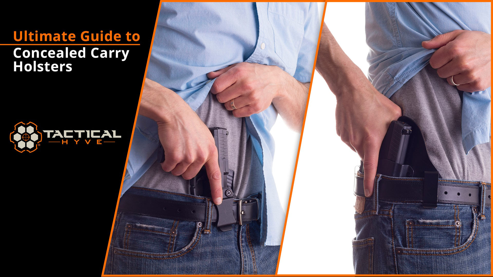 Ultimate Guide to Concealed Carry Holsters - Tactical Hyve