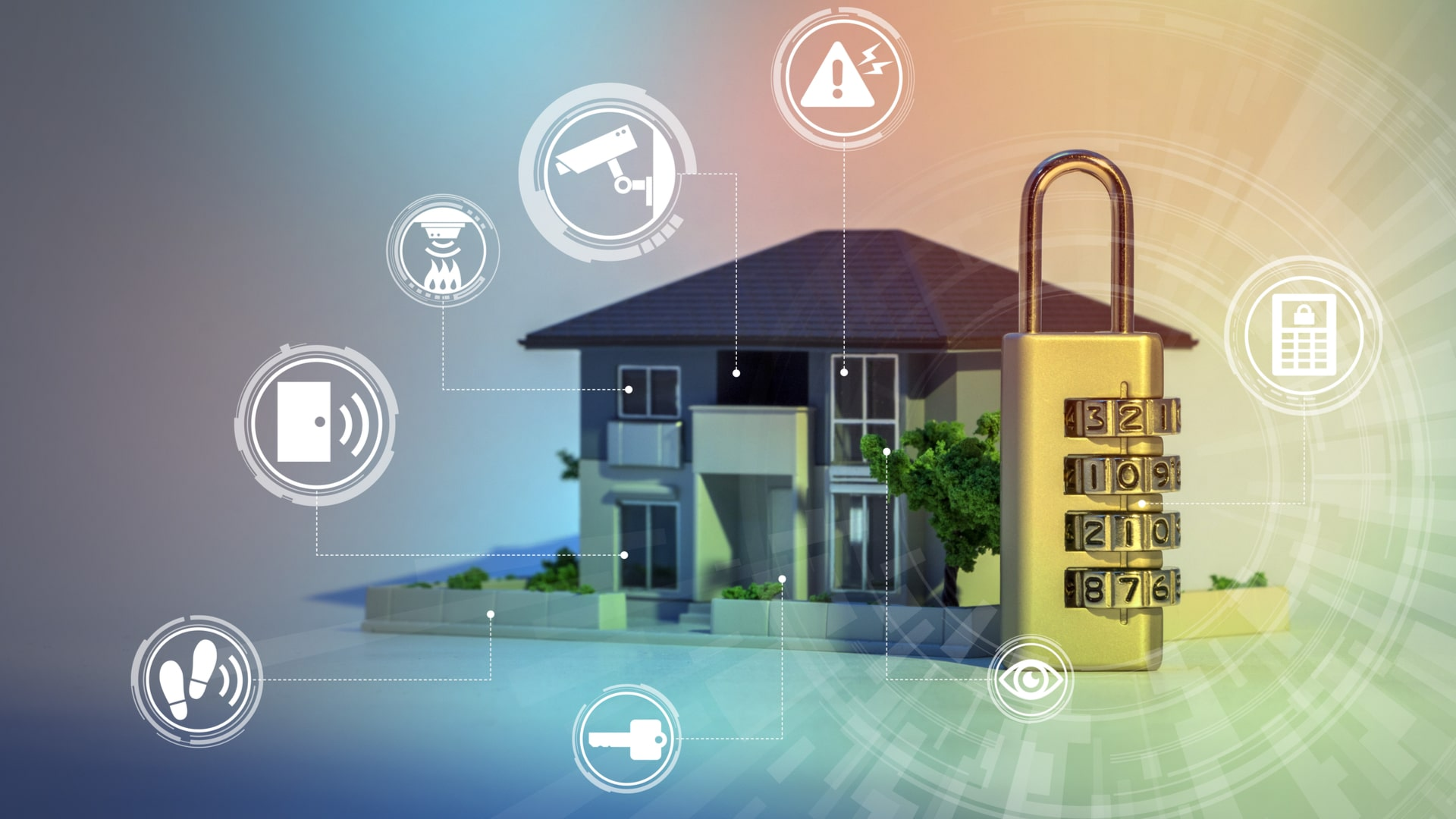 simple home security: 13 ways to protect your home from